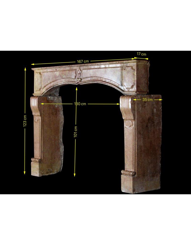 Maison Leon Van den Bogaert Antique Fireplaces & Vintage Architectural Elements Französisch 17. Jahrhundert Periode Burgund Zweifarbig Kamin Maske
