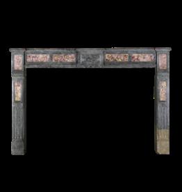 The Antique Fireplace Bank Bicolor Antiguo Francés Surround Piedra