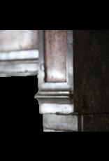 Zweifarbig Französisch Antike Stein Kamin Maske