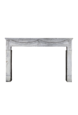 Grand 18Th Century French Bleu Hard Stone Antique Fireplace Surround