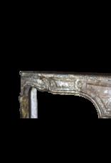 Belgischen 18. Jahrhundert Klassischen Marmor-Kamin-Stück