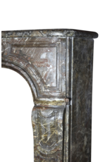 The Antique Fireplace Bank Belgian 18Th Century Classic Marble Chimney Piece