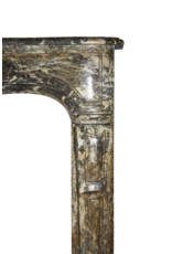 Kleine Belgische Antike Kamin Maske
