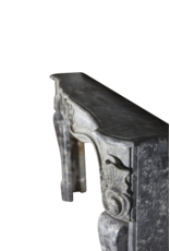 The Antique Fireplace Bank 18Th Century Grand Belgian Antique Fireplace Surround In Oxidate Marble