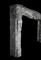 The Antique Fireplace Bank 18. Jahrhundert Große Belgische Antike Kamin Maske In Oxidate Marmor