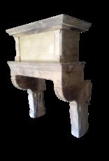 The Antique Fireplace Bank Original Des 17. Jahrhunderts Französisch Antike Kaminmaske Im Kalkstein