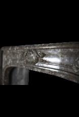 Período Siglo 18 Francés Pequeña Chimenea De Mármol De Sonido Envolvente