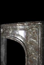 Kleine Französisch 18. Jahrhundert Periode Marmor Kamin Maske