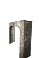 Small French 18Th Century Period Marble Fireplace Surround