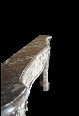 Amplia Excepcional Clásico Belga Antiguo Chimenea