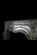 Kleine Belgische Perle Antik Kamin Maske