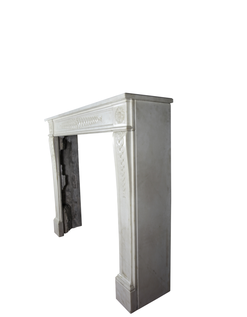 The Antique Fireplace Bank Delicate Classic French Antique Fireplace Surround In White Statury Marble