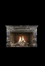 The Antique Fireplace Bank Biedermeier Antik Kamin Maske In Port D'or Marmor
