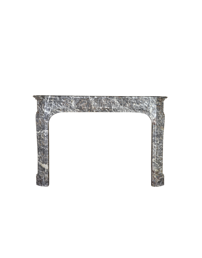 The Antique Fireplace Bank Belgian 18Th Century Ardennes Marble Fireplace Surround