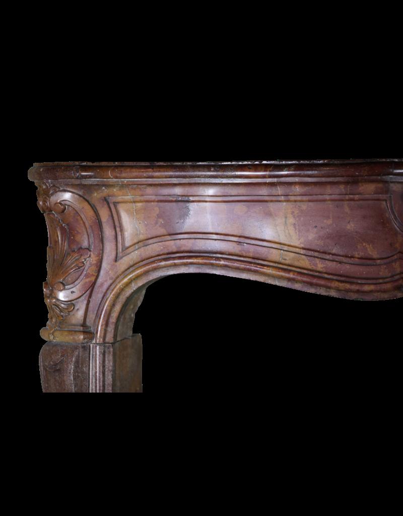 Zweifarbig 18. Jahrhundert Französisch Kamin Verkleidung