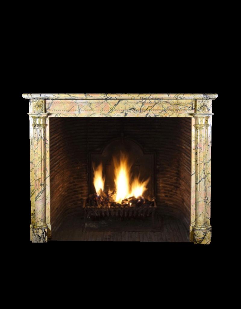 The Antique Fireplace Bank 18. Jahrhundert Chique Französisch Antik Kamin Maske