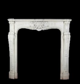 18Th Century Romantic Vintage Fireplace Surround