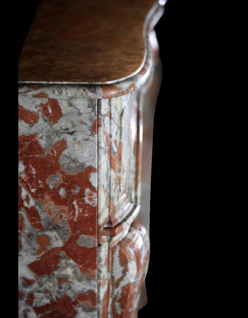 Regentschaft Periode Französisch Marmor Kamin Verkleidung