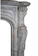The Antique Fireplace Bank 19Th Century Grand French Marble Fireplace Surround