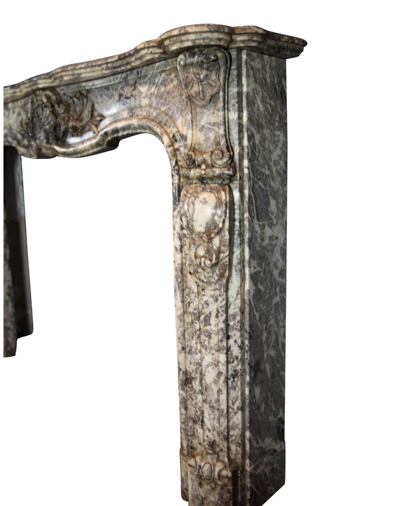 The Antique Fireplace Bank Chique Belgian 19Th Century Period Fireplace Surround
