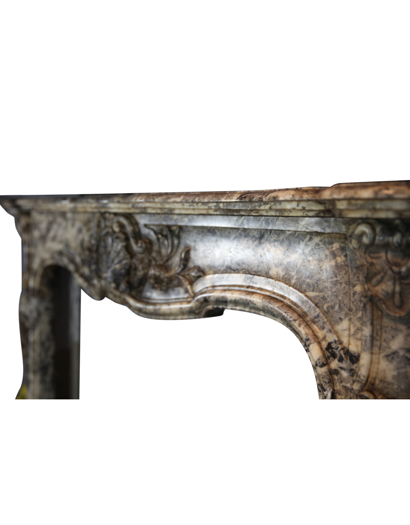 Chique Belgian 19Th Century Period Fireplace Surround
