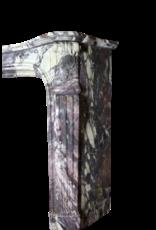París Monumental De Mármol Antiguo Revestimiento En Brêche Violeta