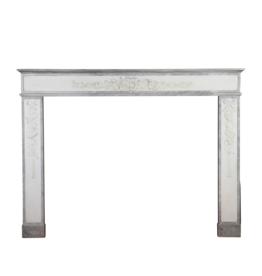 Directoire Period French Vintage Fireplace Surround