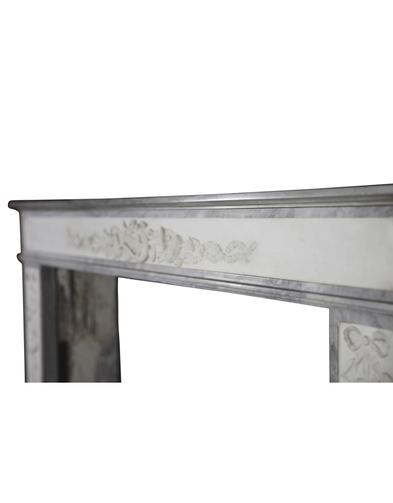 Directoire Period French Antique Fireplace Surround