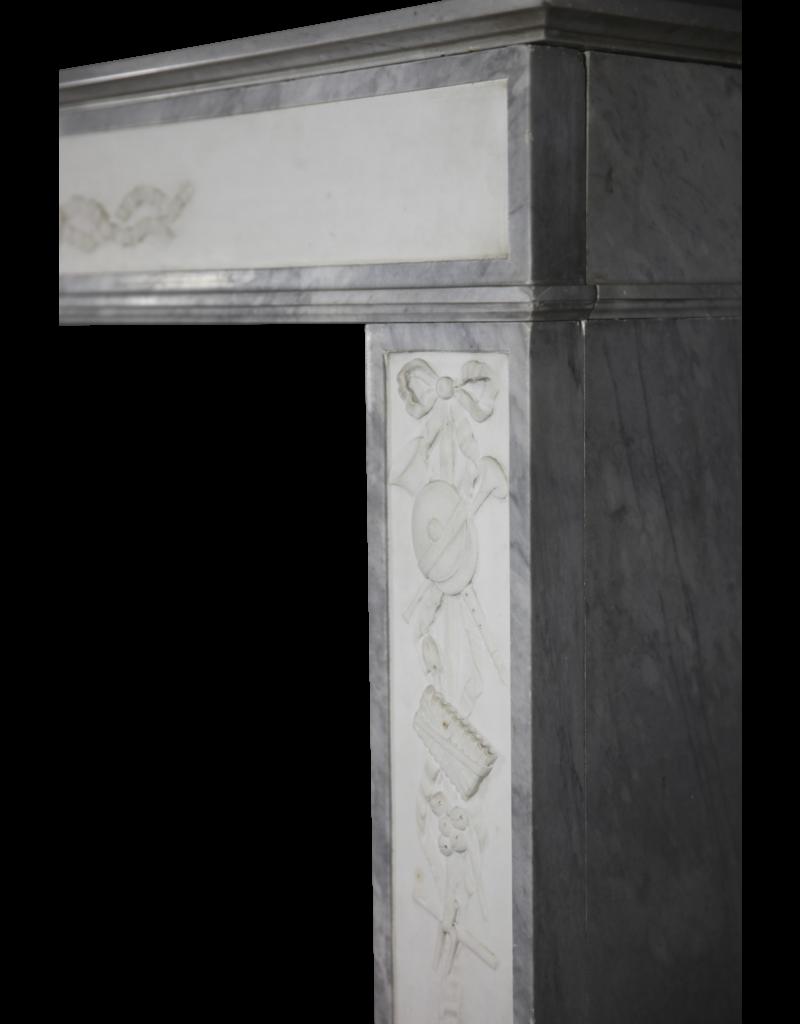 The Antique Fireplace Bank Directoire Periode Französisch Antike Kamin Maske
