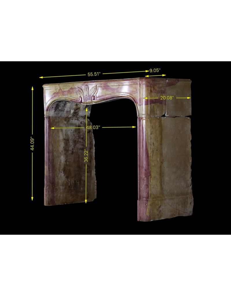 18Th Century Created By Nature Vintage Fireplace Surround