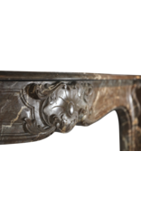 Belga Fuerte Del Siglo 18 Chimenea