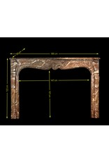 Belgian Strong 18Th Century Fireplace Surround
