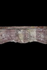 Italienischer Marmor Kamin Maske
