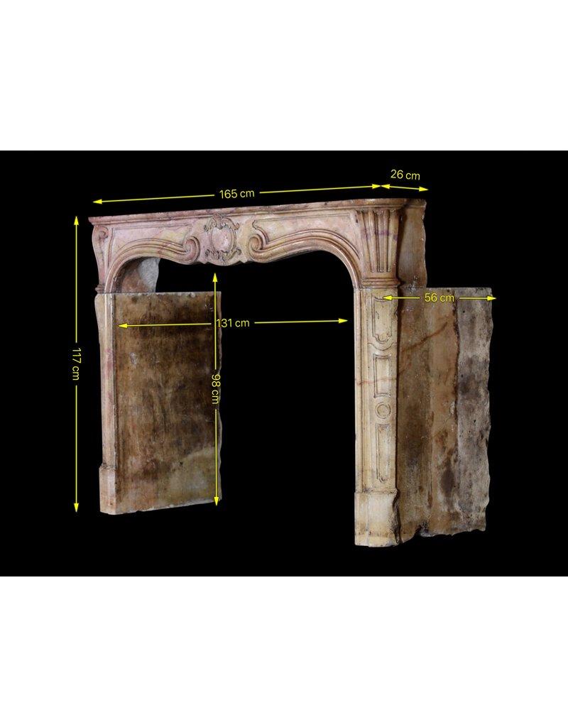 Erstellt Von Natur Hartstein 18. Jahrhundert Periode Jahrgang Kamin Maske