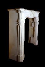 The Antique Fireplace Bank Kleiner Carrara Kamin Maske