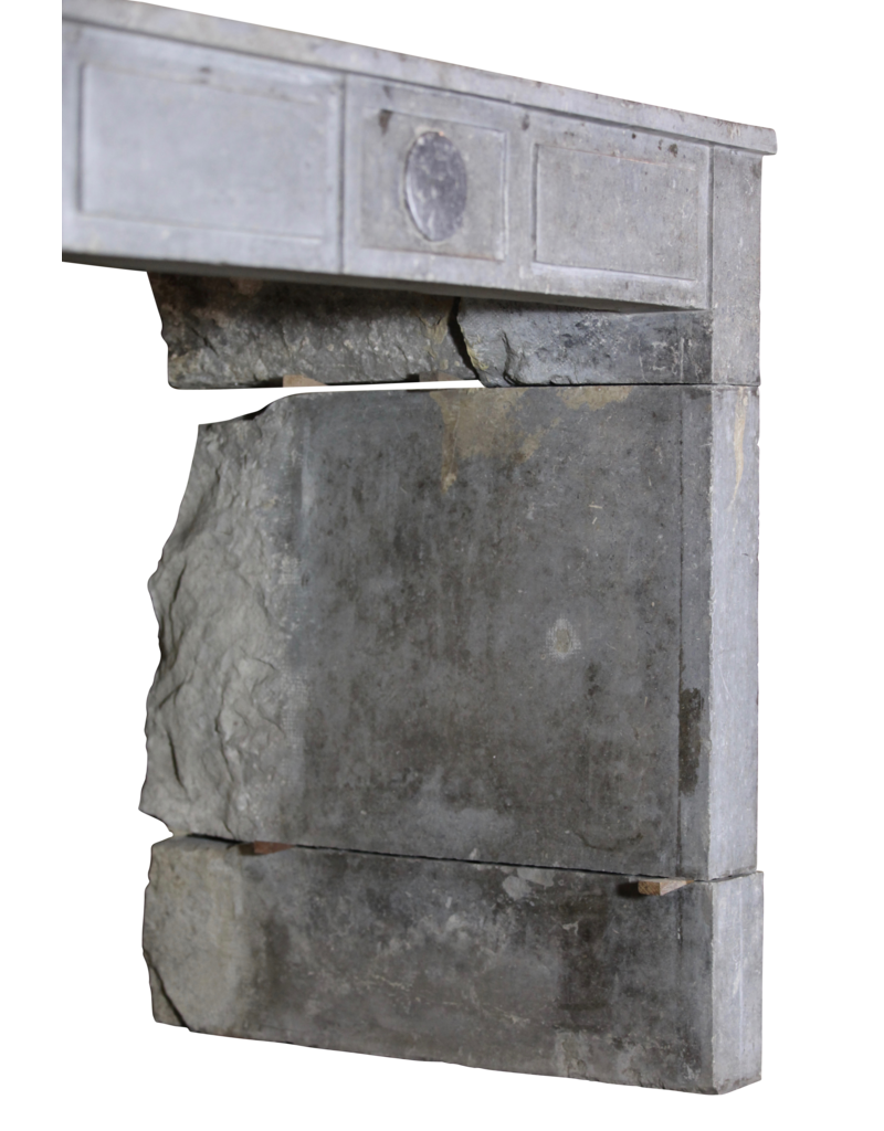 Timeless Art Deco Period Stone Fireplace Surround
