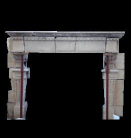 Maison Leon Van den Bogaert Antique Fireplaces & Vintage Architectural Elements Riesen Festung Antike Kamin Maske In Hartem Kalkstein