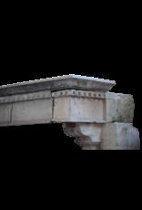 Gigante Antigua Fortaleza Revestimiento En Piedra Caliza Duro