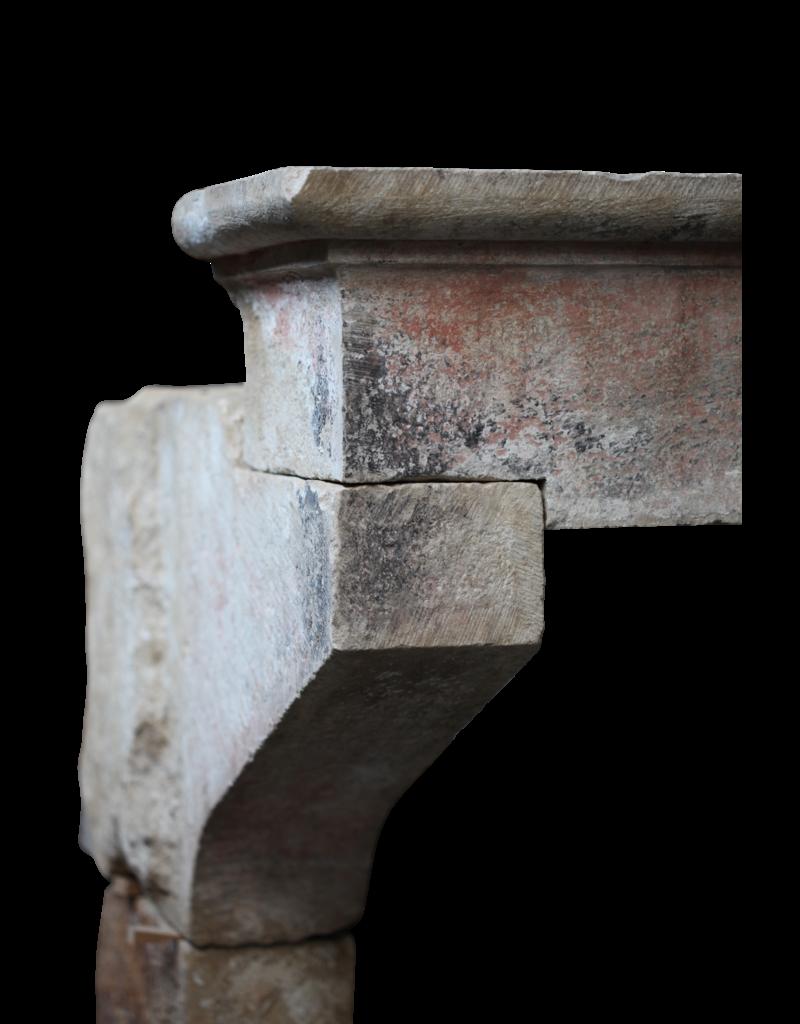 Gran Siglo 16 Francés País Estilo Antiguo Chimenea De La Chimenea