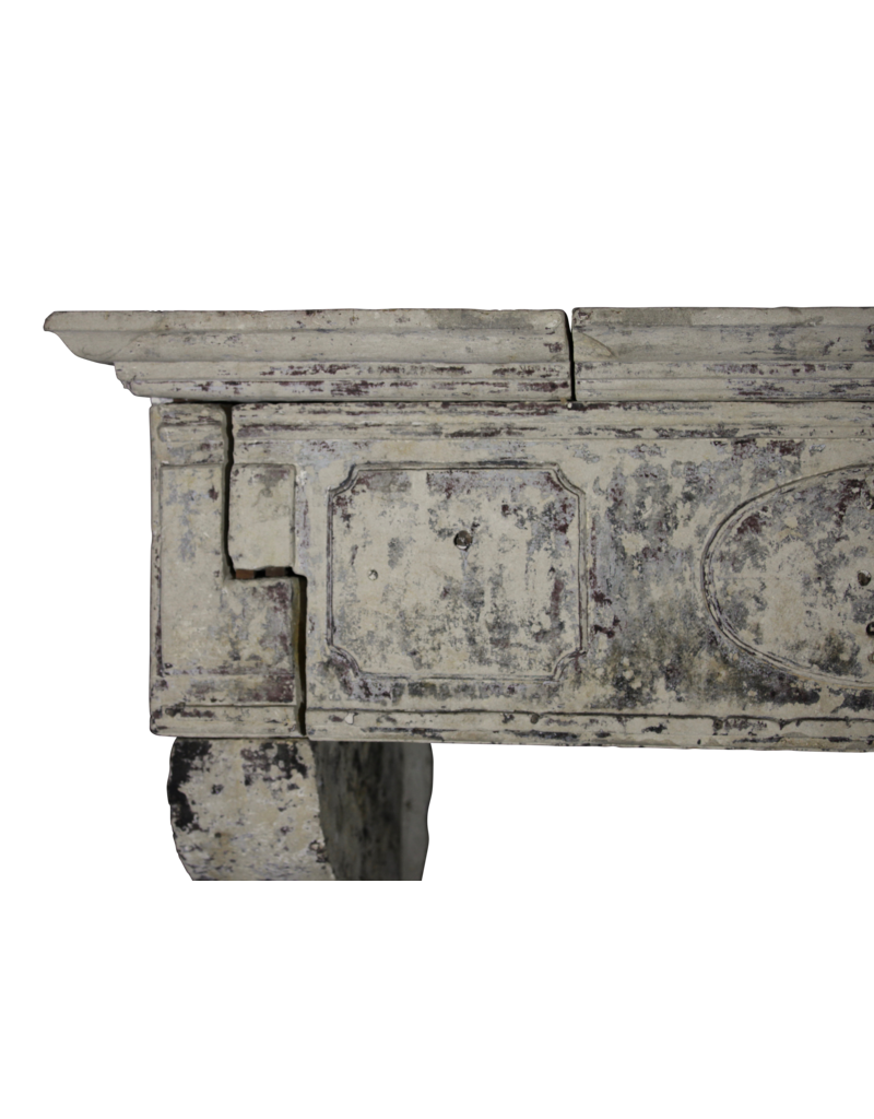 The Antique Fireplace Bank French 17Th Century Period French Country Style Limestone Fireplace Mantle