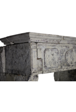 The Antique Fireplace Bank Französisch 17. Jahrhundert Periode Französisch Landstil-Art-Kalkstein Kamin Verkleidung