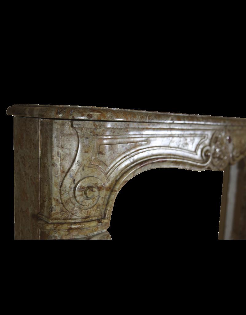 Starker Regentschaft Period Original-Marmor Antike Kamin Maske
