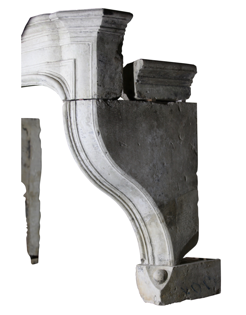 The Antique Fireplace Bank Estilo Francés Del Siglo 18 La Piedra Caliza Antigua Chimenea