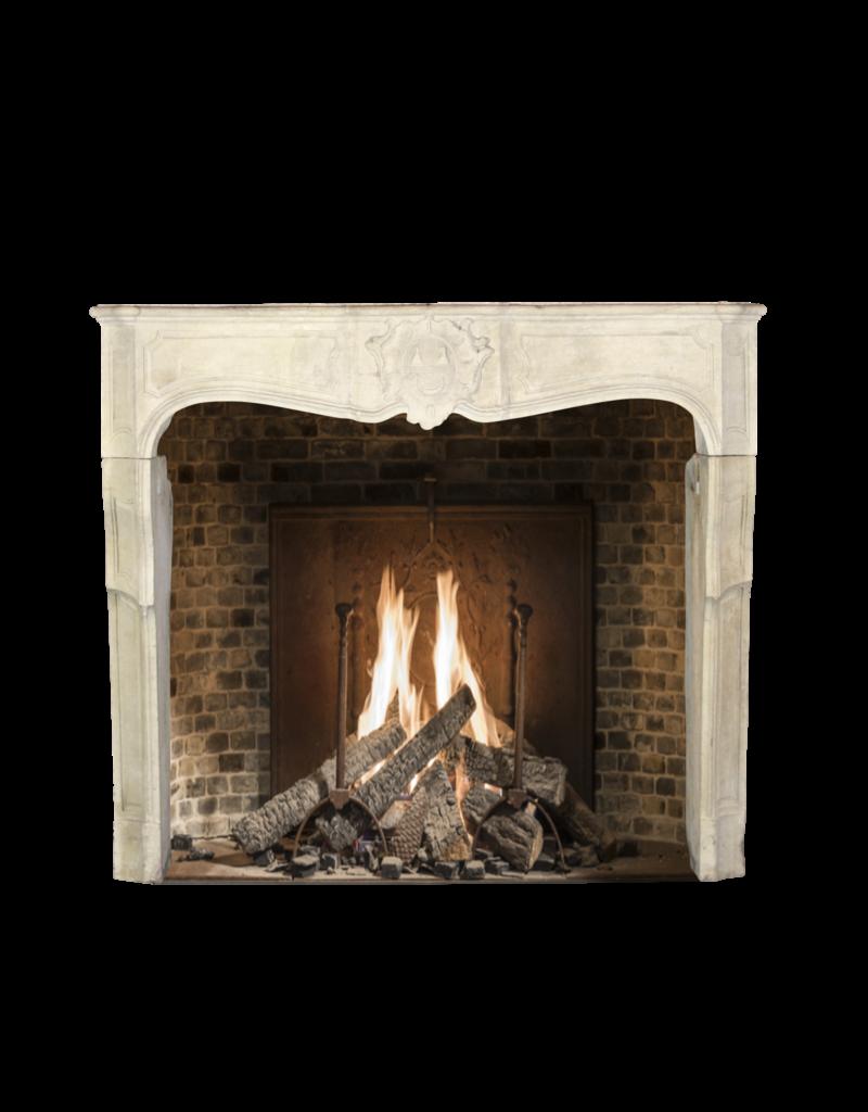 The Antique Fireplace Bank Antike Französische Kalkstein Kamin Maske