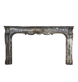The Antique Fireplace Bank Wide Belgian Classic Fireplace Surround In Belgian Grey Marble