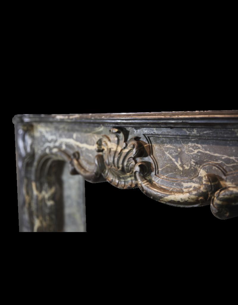The Antique Fireplace Bank Breite Belgische Klassischer Kamin Maske Im Belgischen Grau Gris D'ardenne Marmor
