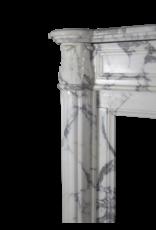 Maison Leon Van den Bogaert Antique Fireplaces & Vintage Architectural Elements 18. Jahrhundert Feine Französisch Kamin Maske In Marmor