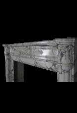The Antique Fireplace Bank 18. Jahrhundert Feine Französisch Kamin Maske In Marmor
