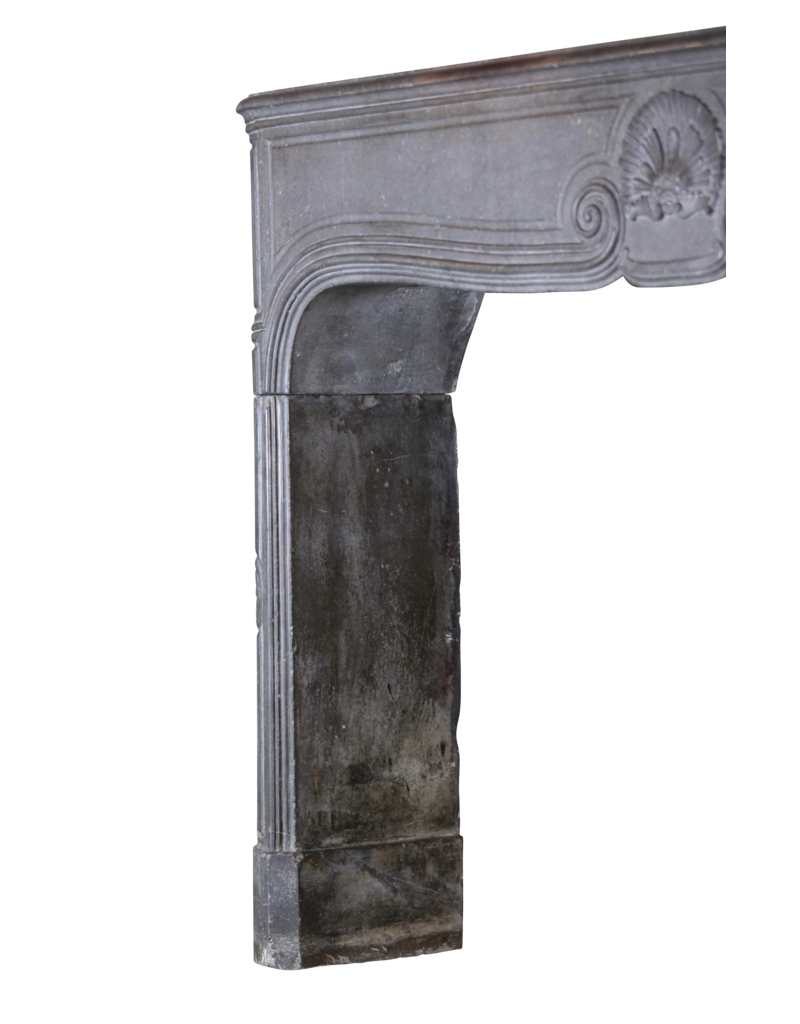 Grand 18Th Century French Chique Country Style Antique Fireplace Surround