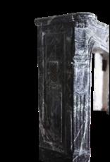 Mármol Verde Inusual Envolvente Antiguo Clásico Chimenea Francesa